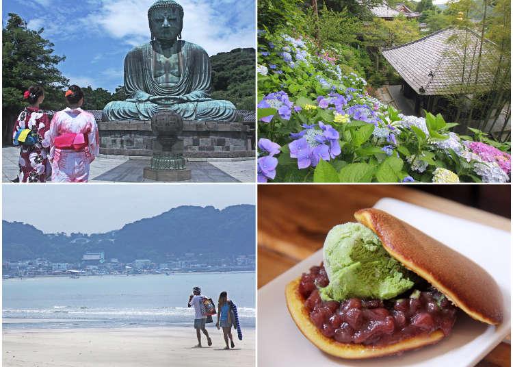 가마쿠라 여행- 도쿄근교에서 에노덴을 타고 관광명소 산책! 하세역에서 북쪽 방면
