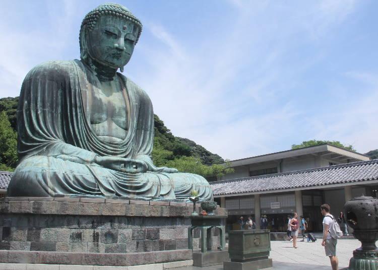 SPOT2)腰から胎内に入ることもできる!「鎌倉大仏殿 高徳院」
