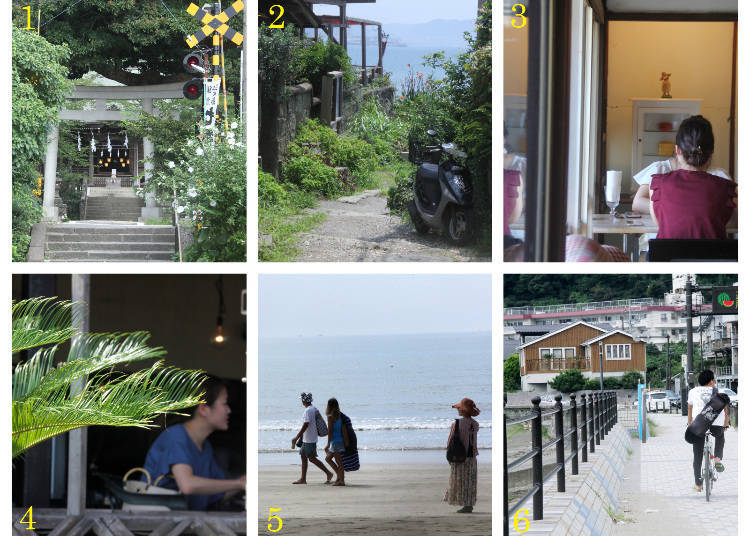 The Sightseeing Route Part 1: Hase Station → Sakanoshita Area → Beach