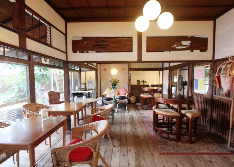 SPOT 3) 오래된 민가를 이용한 카페 [café 사카노시타] 팬케이크