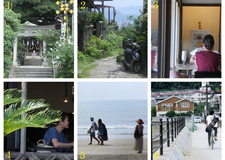 散步路線指南1:長谷車站→坂下地區→由比濱海岸