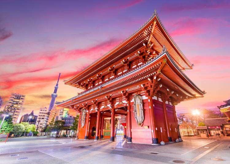 도쿄 여행 3박4일을 제대로 즐길 수 있는 코스! 도쿄에서는 어디를 가볼까?