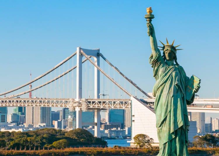 오다이바 [다이버시티도쿄]에서 쇼핑으로 도쿄 여행 시작!