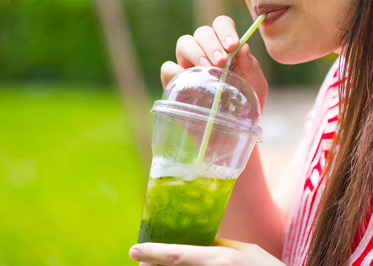 7. Iced Green Tea: Japanese drink of choice!