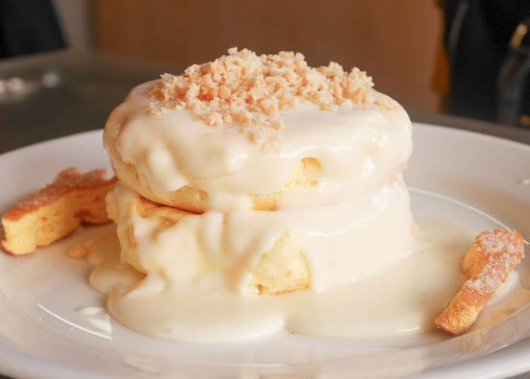 """ร้านแพนเค้กที่เรียกได้ว่าเป็ฯตัวแทนของฮาราจูกุ """"Rainbow Pancake"""""""