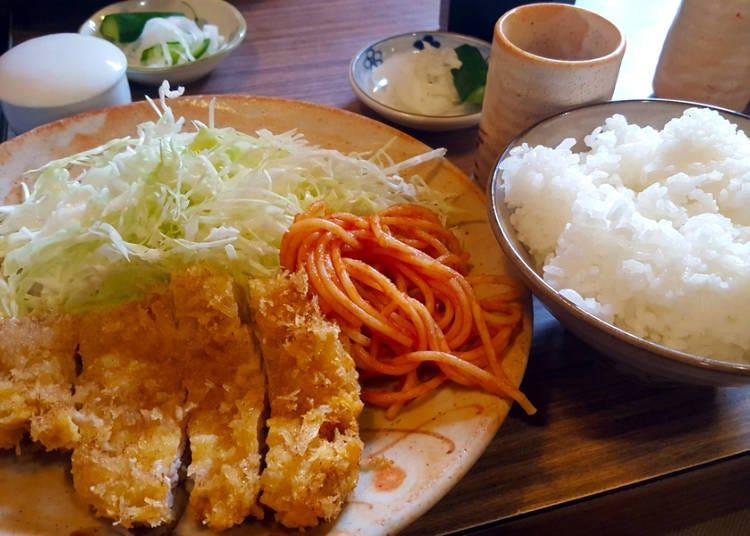 炒麵是主食也是一種配菜