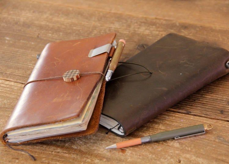 急速風靡全球文青的「Traveler's Notebook」