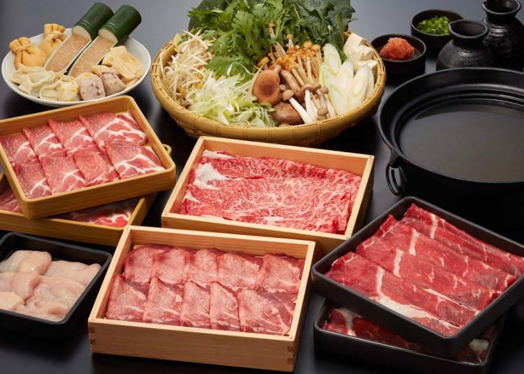 Nabezo: Sukiyaki or Shabu-Shabu? In Any Case, it's All-You-Can-Eat!