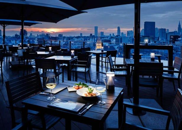 浪漫夜景打造美好夜晚,表参道优雅气氛餐厅精选