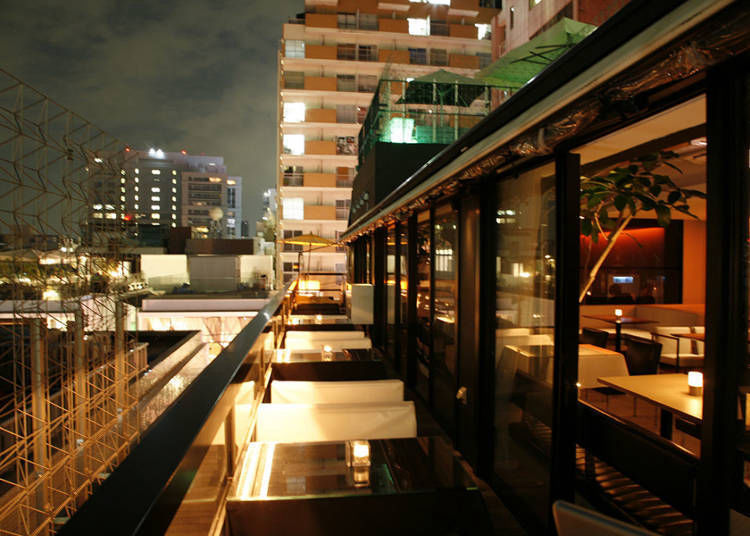 Mercer Café Terrace House: Casual Dishes with a Luxurious Taste