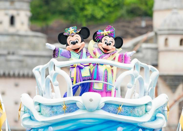 "June 7 – July 7, 2018: ""Disney Tanabata Days"""