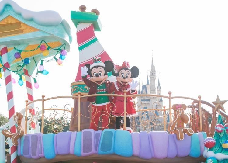 "November 8 – December 25, 2018: ""Disney Christmas"""