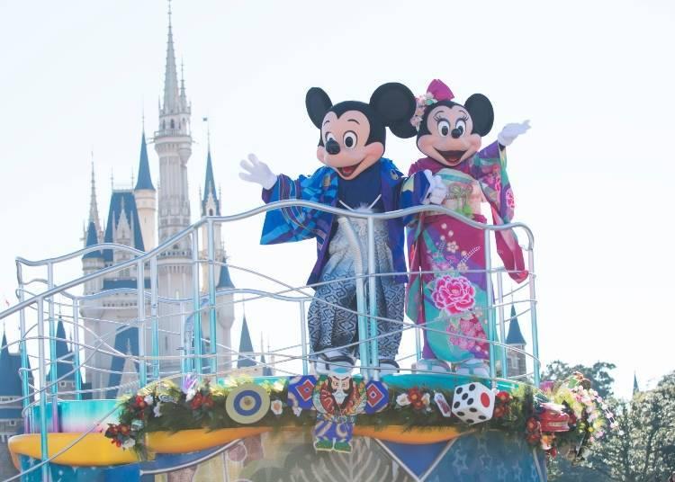 January 1 – 6, 2019: New Year's Programs at Tokyo Disneyland and Tokyo DisneySea