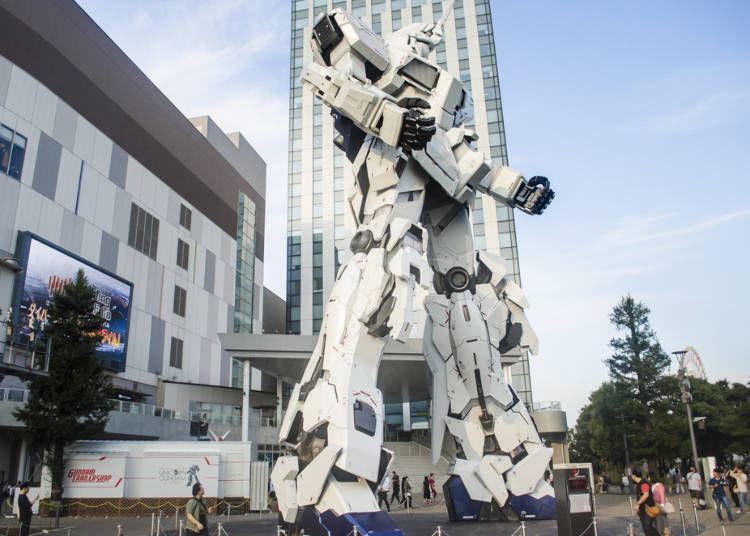 The Latest and Greatest Unicorn Gundam in Tokyo