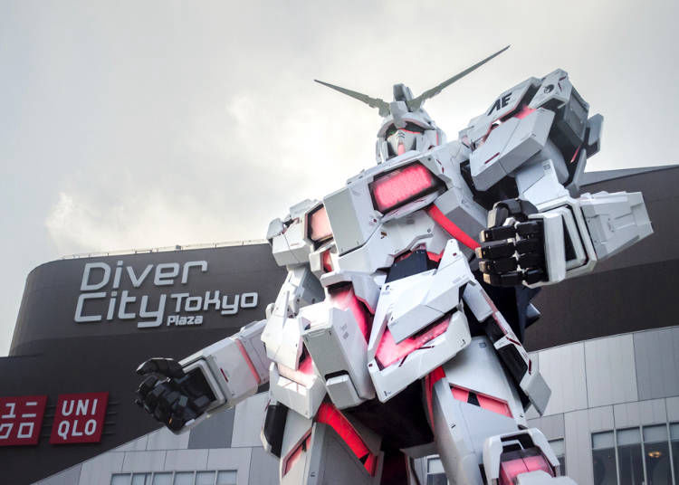 When Does the Odaiba Gundam Light Up?
