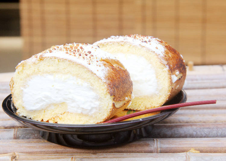 Ishii – The Fluffiest Cake Roll in all of Shibamata!
