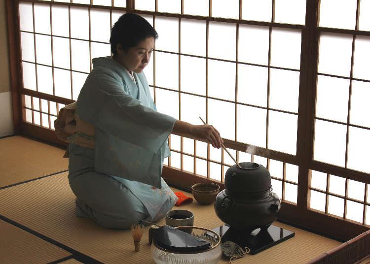 [리포트] 전통적인 다도 체험&요리 교실로 일본 문화를 만끽하자!
