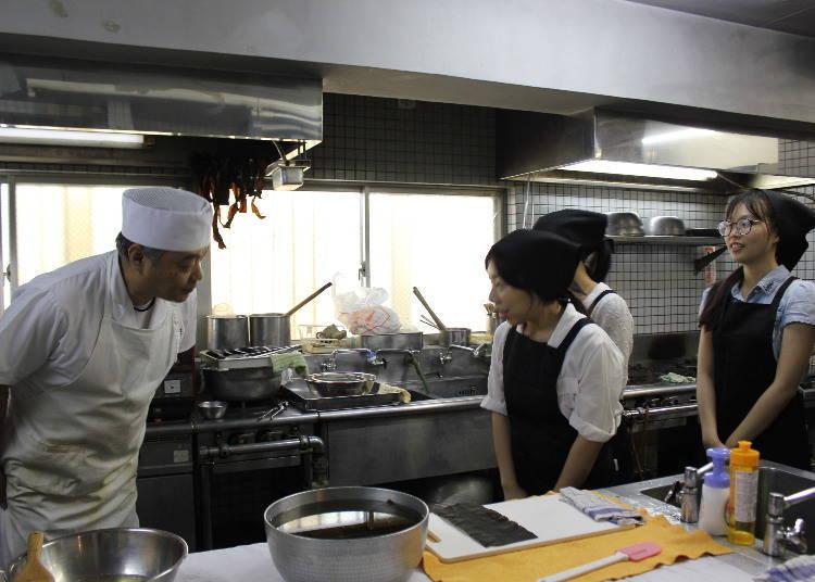 일본 요리 교실에서 [다시] 만들기