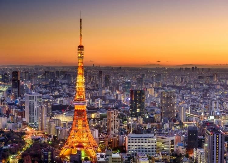 4. Tokyo Tower