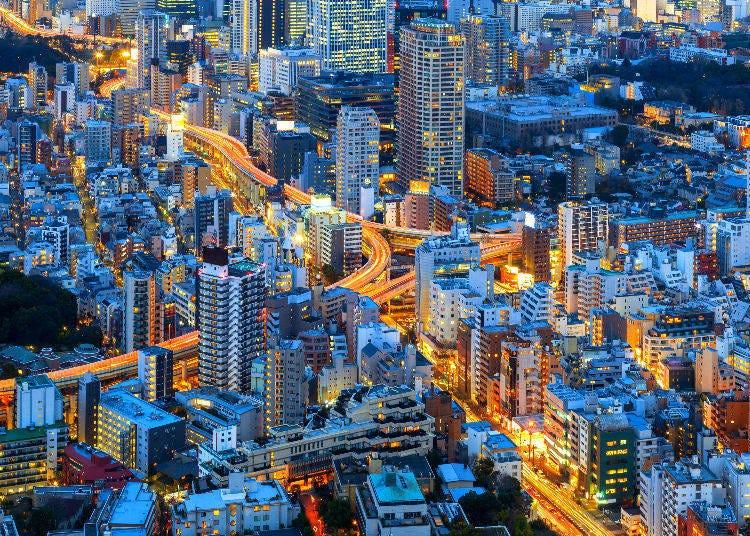 3. Tokyo City View and Sky Deck at Mori Tower
