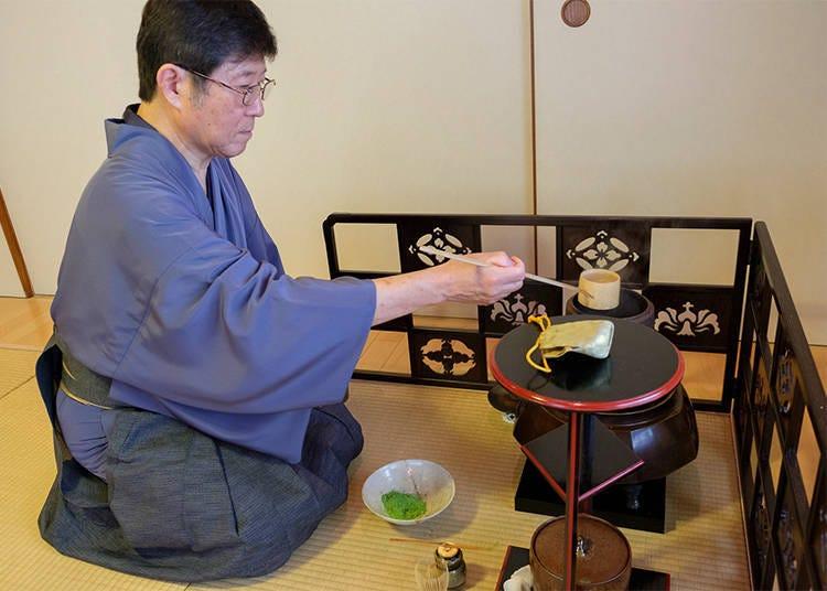 茶道とどのようにして向き合うか