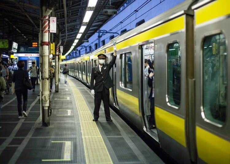 Public Transportation & Traffic on New Year's in Tokyo