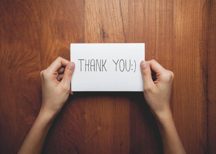 5:小さいことでもお礼を言ってくれる、礼儀正しさがある