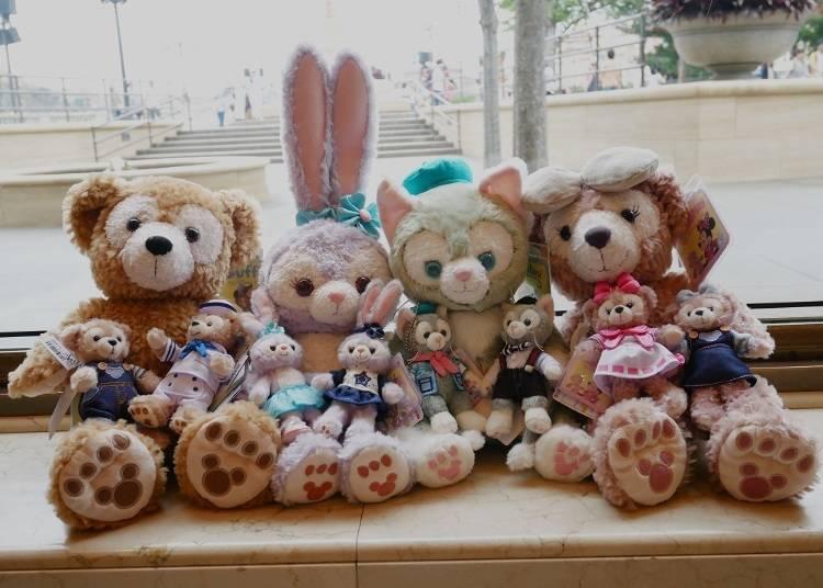 達菲、雪莉玫、傑拉多尼、星黛露 經典玩偶和吊飾