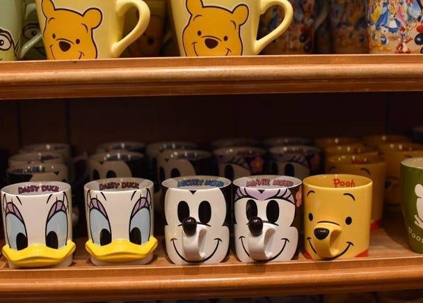 迪士尼經典角色造型立體馬克杯