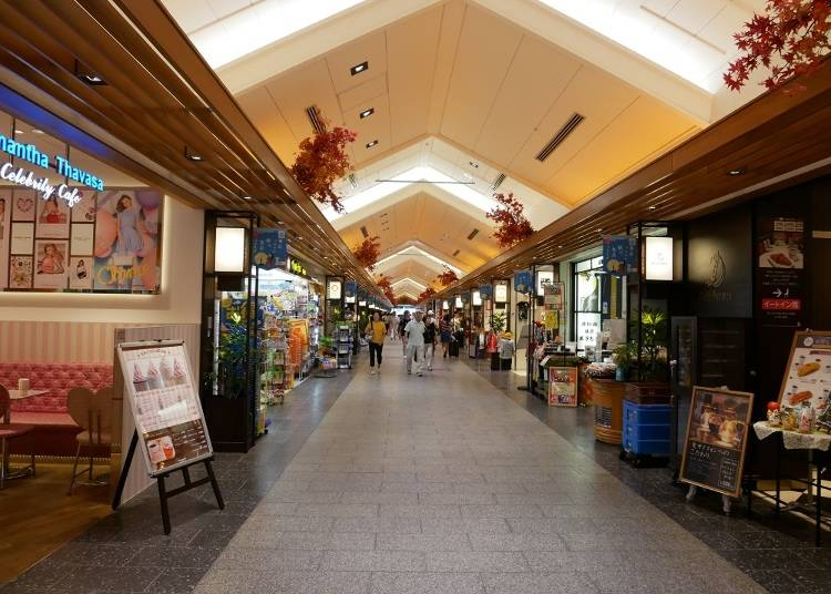 1F ソラマチ商店街、St.ストリート 食品、雑貨、カフェなどバリエーション豊富な35ショップが大集合