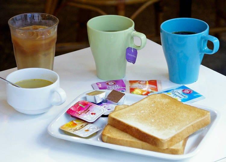 350日圓小確幸自助式早餐