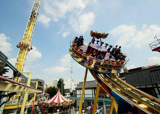 Asakusa Hanayashiki: Feel Retro Nostalgia at Japan's Oldest Amusement Park!