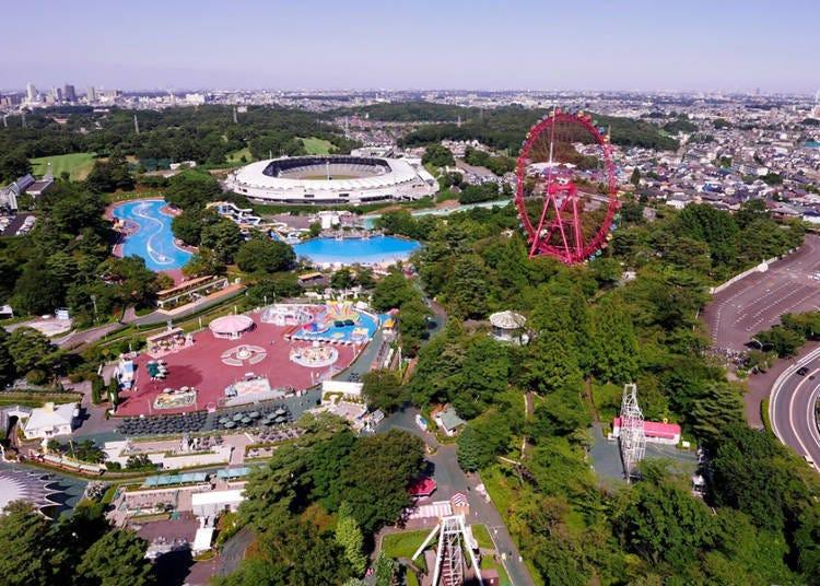 在旋转观景台上眺望摩天轮!由高空将美景尽收眼底的「西武园游乐园」