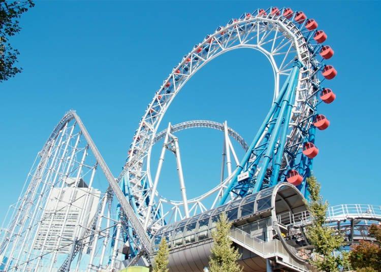 世界首創卡啦OK摩天輪「東京巨蛋城遊樂園」