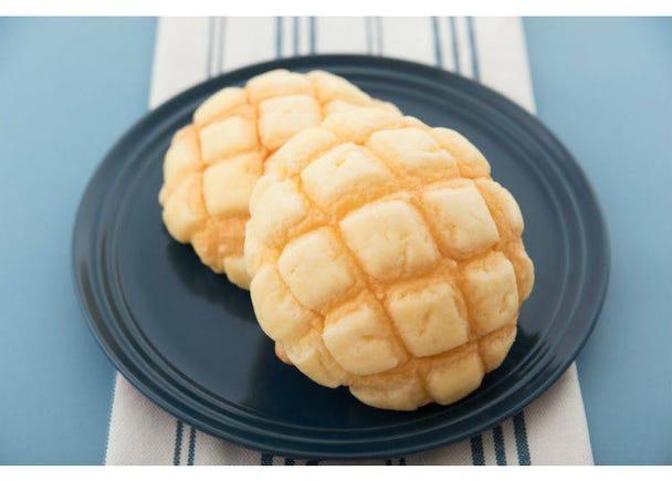 4. Melon Bread