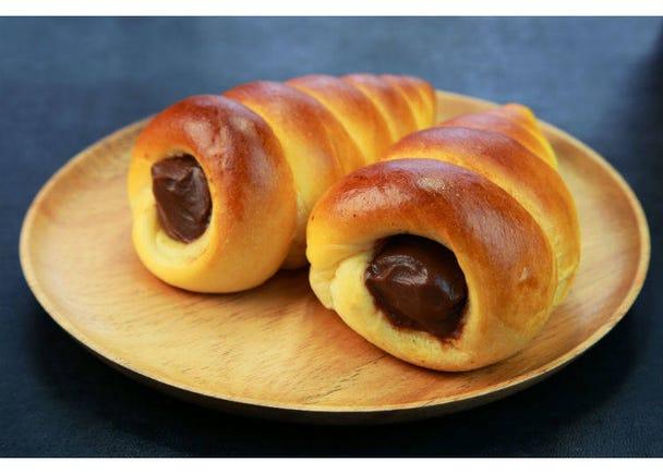 5. Chocolate Cornet Bread