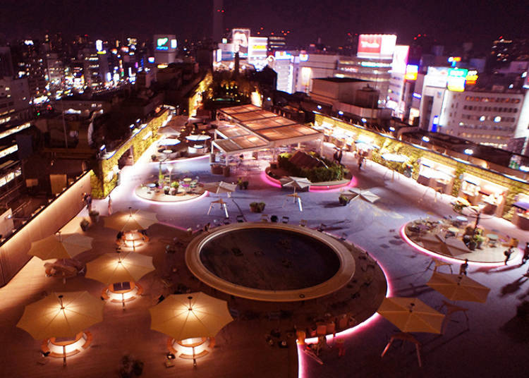 Seibu Ikebukuro: A Lush Rooftop Garden with Excellent Eateries