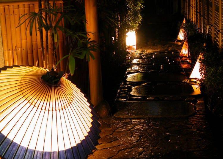 창작요리 레스토랑 「가구라자카 와라쿠」