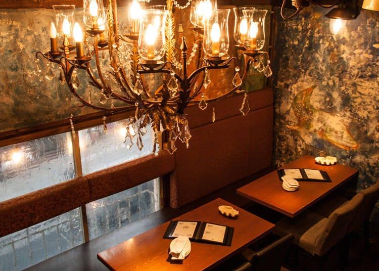 조개 및 해산물을 좋아하는 사람을 위한 「해산물 요리점  패각장 가구라자카 본점」