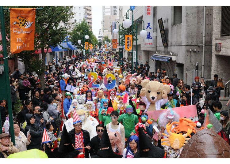 Kawasaki Halloween 2017: Celebrate Halloween in Japan, Spooky and Diverse!