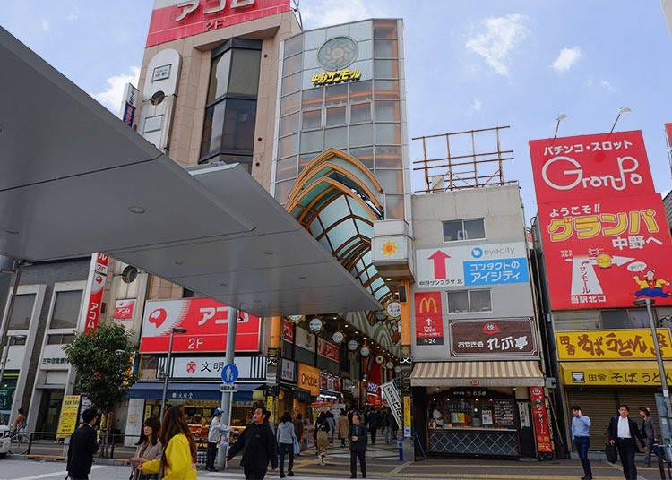 3.中野太陽購物中心商店街