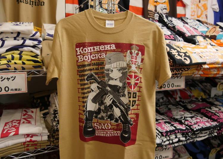 ●アキバならではの「萌え系」キャラTシャツ