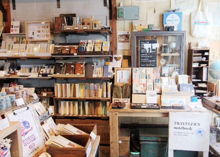 中目黑 | 日式文具与咖啡香气交织的旅人文具房「TRAVELER'S FACTORY」