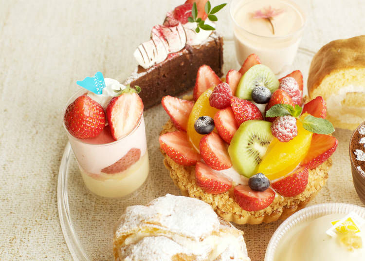 SPOT 6) Shonan souvenirs and Original Desserts at Amalfi Dolce