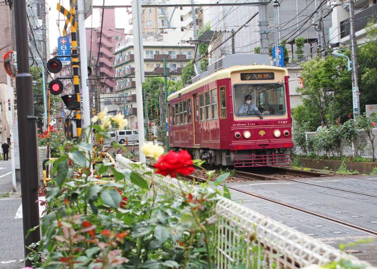 深入東京體驗在地生活!搭乘路面電車都電荒川線,品味不一樣的東京