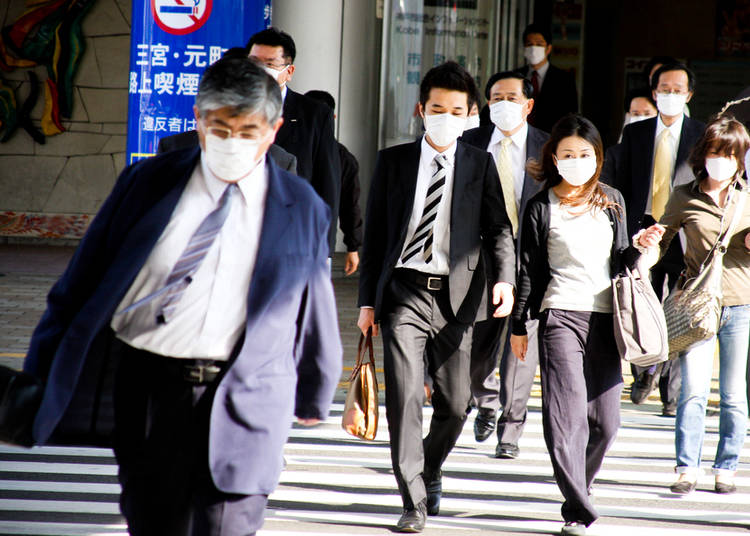 4. No, no one is dying! People just wear masks—a lot!
