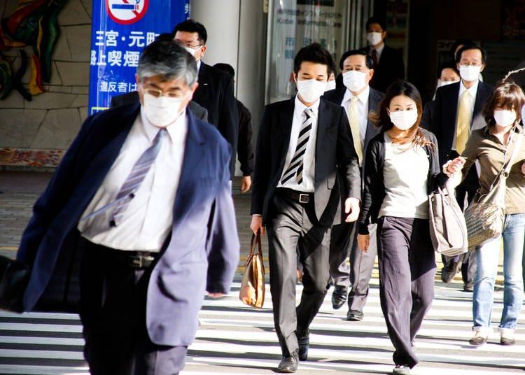 4. People wear masks—a lot!