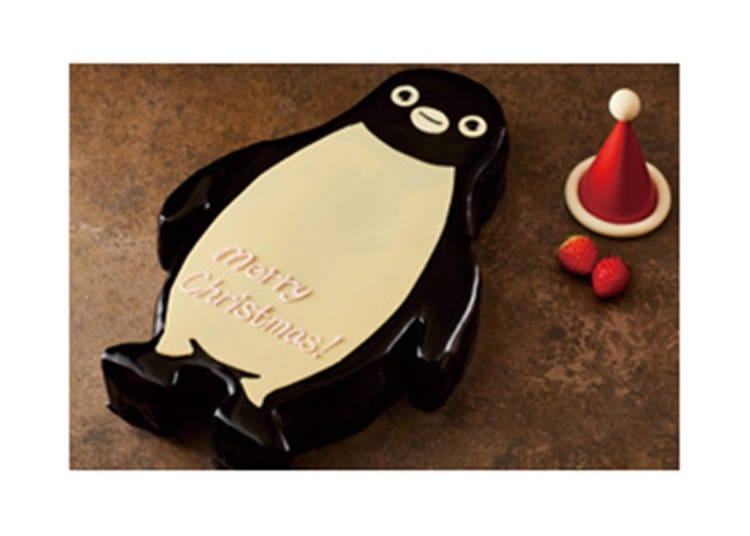 1日5個限定!大人数でパーティーならSuicaのペンギン パーティーケーキ/ホテルメトロポリタン