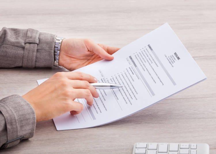 2.面接前に履歴書をチェックしないの!? 面接中に読み込んでいる人が多いよね
