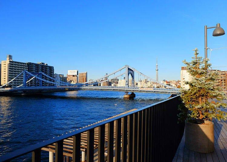 當地人才知道的絕佳私藏景點 隅田川河畔納涼平台「KAWA TERRACE」
